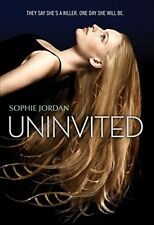 Uninvited by Jordan, Sophie Book The Fast Free Shipping
