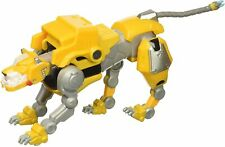 "Playmates DREAMWORKS Voltron Legendary Yellow Lion 5"" Diecast Action Figure NIB"