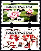 ATM Mi.Nr. 62 - 63 ** postfrisch Österreich Blumen Sonderpostamt Jahrgang 2020