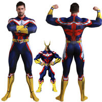All Might My Hero Academia Jumpsuit Halloween Cosplay Costume