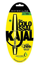 4 X Maybelline Colossal 100 Suitable for Eyes 12h Smudge Proof Kajal 0.35gm