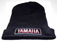 YAMAHA V Star Patch BLACK Beanie Knit Cap Hat Motorcycle BIKER MC New BEA-0006