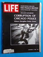 LIFE magazine December 6 1968 Police Riot Democratic Convention vintage ads