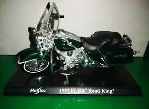 Moto Motocicletta Maisto Harley Davidson 1997 FLHR Road King 1/18