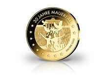 Pièce de Monnaie 999er or Fin Chute Du Mur Allemand Unité Pièce en Or