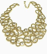"""R.J. GRAZIANO GOLDTONE DREAMWEAVER METAL SCROLL 16"""" COLLAR NECKLACE HSN SOLD OUT"""