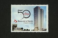 Peru 2016 Nationalbank National Bank Architektur Architecture Postfrisch MNH