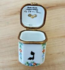 Rochard Limoges Dreidel Trinket Box