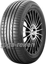 4x Sommerreifen Dunlop Sport BluResponse 205/55 R16 91V