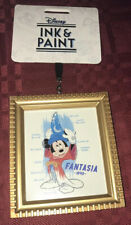 Disney Parks Ink & Paint Fantasia 1940 Canvas Framed Ornament New 2020