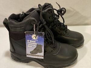 """Waterproof Tactical Boots Rothco 6"""" Bloodborne Pathogen Resistant 5190 Size 7"""