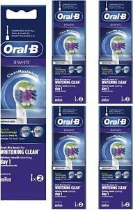Oral.B 3D White 10 Testine Di Ricambio. Prodotto Nuovo, Sigillato, Originale.
