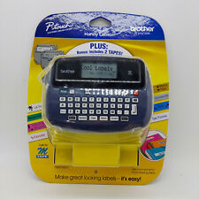 New Listingbrother Pt 45m Electronic Thermal Label Maker With 2 Rolls Tape New In Package