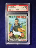 1970 Topps Dave Ricketts #626 PSA 8 Pittsburgh Pirates