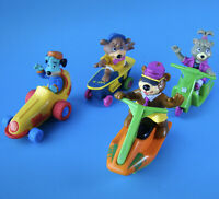 McDonald's Yo Yogi Complete Set of All 4 Happy Meal Toys Pullback Action - 1992