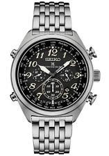 Seiko SSG017 Prospex Radio Sync Solar Chronograph Men's Stainless Steel Watch