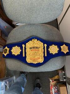 Bruno Sammartino WWWF World Champion Belt and signed Robe  WCW WWE WWF WWF