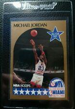 1990 FLEER ALL STAR #5 MICHAEL JORDAN CHICAGO BULLS HOF NM-MT