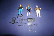 VINTAGE A-TEAM FACE MURDOCK B.A. MR.T WITH WEAPONS GALOOB ACTON FIGURES 1983