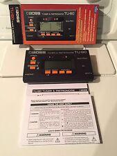 Boss-Tuner-Metronome TU 80