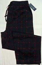Tommy Hilfiger Homme Pyjama pantalon de détente XL Noir Coton Rouge Logo