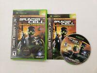 Tom Clancy's Splinter Cell: Pandora Tomorrow (Microsoft Xbox) Free Fast Shipping