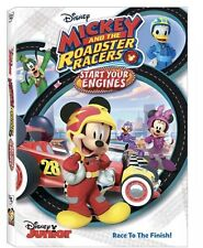 DISNEY MICKEY AND THE ROADSTERS START YOUR ENGINES DVD NEW UNOPENED