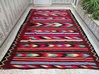 Handmade Moroccan Berber Rug Beni Ourain Tribal Carpet Azilal Wool Geometric Rug