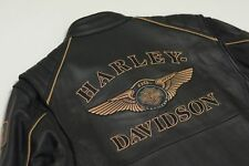 Harley Davidson Men's 110th Anniversary Leather Jacket S 97145-13VM LIMITED Rare