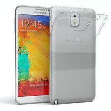 Ultra Slim Cover für Samsung Galaxy Note 3 TPU Case Silikon Hülle Transparent
