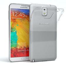 Ultra Slim Cover für Samsung Galaxy Note 3 TPU Case Silikon Hülle Transparent