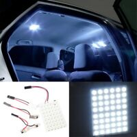 48SMD 3528 LED Lamp Panel BA9S T10 Festoon Car Interior Dome White Led Lights