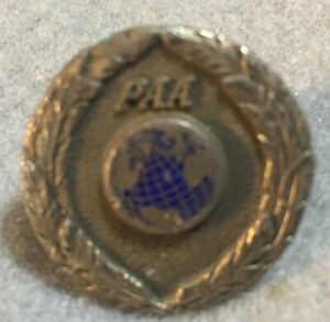 PAN AMERICAN AIRWAYS (PAA) PILOT HAT BADGE 3RD ISSUE