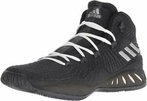 adidas Crazy Explosive Black/SIL/Gr Basketball Shoes (BW0985)  7.5