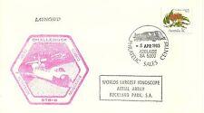 SPACE SHUTTLE STS-6 ADELAIDE AUSTRALIA 4/5/83, PETERSON, MUSGRAVE, BOBKO, WEITZ
