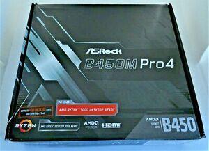 ASRock B450M Pro 4 AMD RYZEN