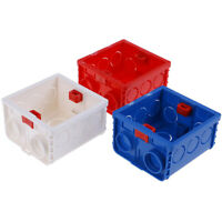 1Pcs 3 Hole Mounting Wall Switch Box For Sockets 86 Type Mounting Box JE