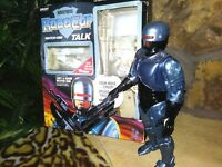 "TOY ISLAND ROBOCOP AUDIOTRONIC 12.5"" ACTION FIGURE w/WEAPON ARM, BROKEN GUN, MIB"