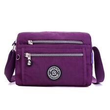 Women Nylon Bag Small Shoulder Bag Waterproof Nylon  Multilayer Messenger Bags