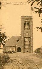 Belgium Kemmel - Belvedere old sepia postcard