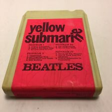 Beatles - Yellow Submarine 8 Track - Tested - Plays Nicely