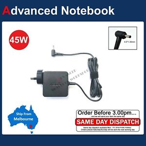 Genuine 45W Charger Power Adapter For Asus E410 E410MA Laptop