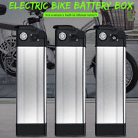 E-bike battery box plastic case for 36V/48V large capacity 18650 holder Silver e