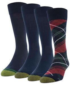 Gold Toe Mens 4 Pack Christmas Plaid Socks $24 - NWT