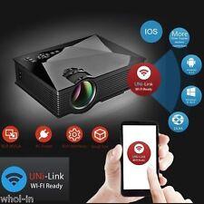 2017 Edition UC46 mini full hd LED Wifi Projector 1200 lumi HDMI Airplay DLAN
