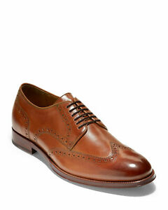 Cole Haan Men's American Classic Gramercy Derby Lace-Up Oxfords Brown