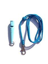 Light Blue ACME 210.5 Gundog Whistle & Light Blue Turks Head Knot Lanyard