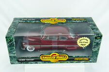 Ertl American Muscle 1949 49 Merc Mercury Lead Sled 1/18 Scale Diecast Car
