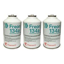 DuPont Suva Automobile Refrigerant Three Cans (R134a)