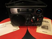 VINTAGE PANASONIC RF-2600 AM FM SW1 SW2 SW3 SW4 SHORTWAVE RADIO RECEIVER, WORKS!